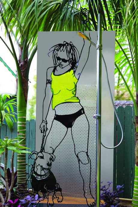 aquapole outdoor shower system