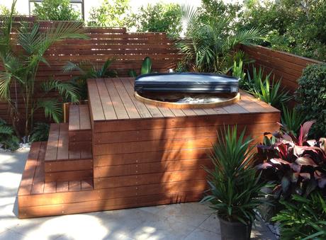 how to build a wood fired cedar hot tub