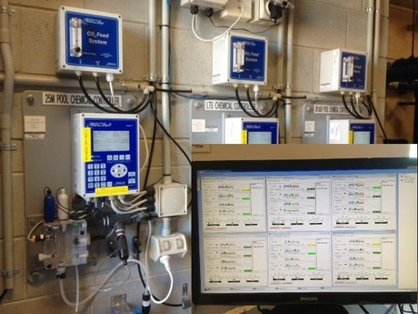 Becs technology becsys5 pool ph and chlorine controllers for Pool won t show chlorine