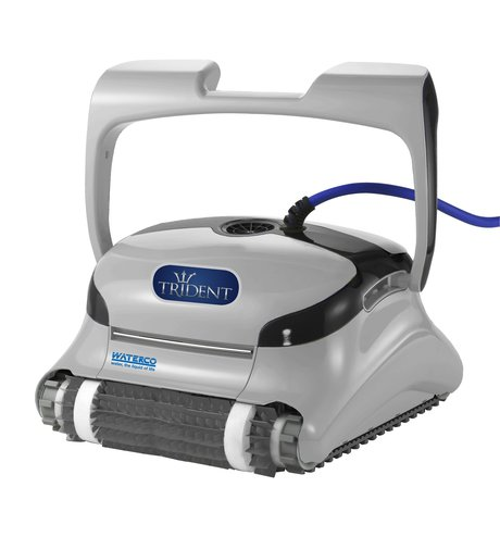 Maytronics trident standard and trident pro robotic cleaners for Automatic pool cleaner reviews 2014