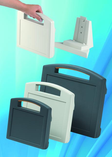 Business Portable Enclosures : Okw carrytec portable enclosures range