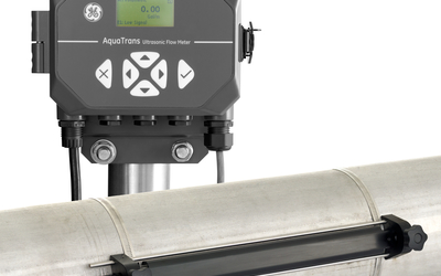 GE AT600 ultrasonic flow meter