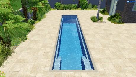 Narellan pools panama lap pool for Lap pool dimensions