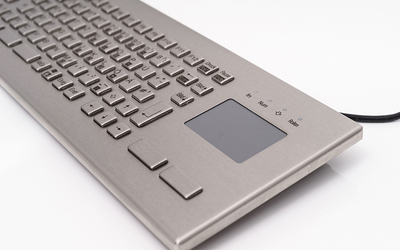InduKey TKV-084-FIT-Touch-IP65-MGEH Series stainless steel keyboards