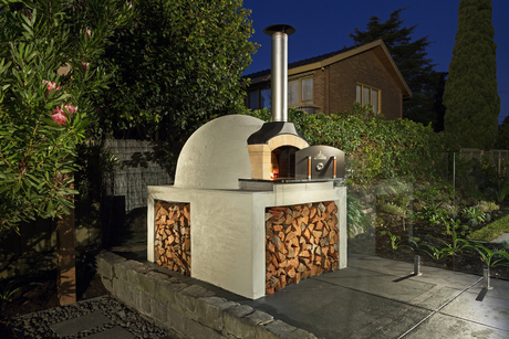 Melbourne Fire Brick Company Precut Brick Oven Kit