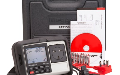 Megger PAT150 battery-operated appliance tester
