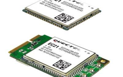 Quectel EC21 IoT/M2M-optimised LTE category 1 module