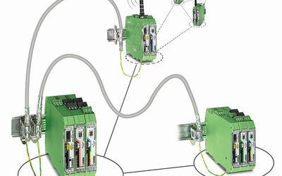 Phoenix Contact Radioline RAD-RS485-IFS I/O system