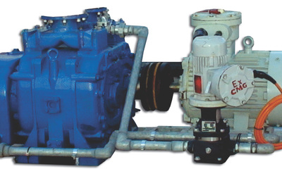 Northey claw-type gas compressors