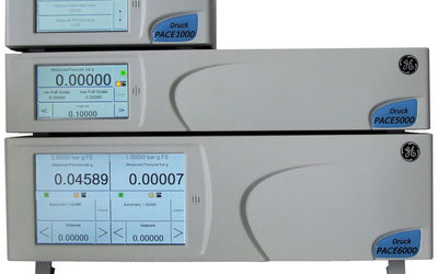 GE Measurement & Control PACE 5000 and 6000 pneumatic pressure controllers/indicators