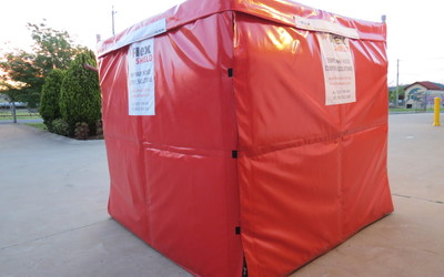 Flexshield acoustic mobile tent
