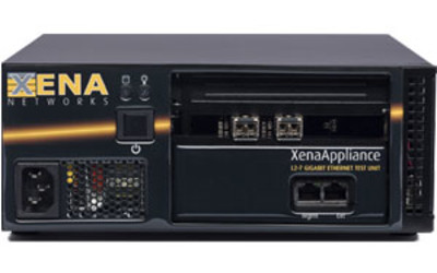 Xena Networks XenaAppliance gigabit TCP test chassis