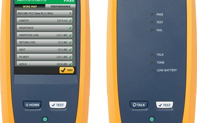 Fluke DSX-5000 CableAnalyzer copper test solution