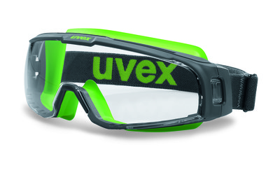 uvex u-sonic wide-vision goggles