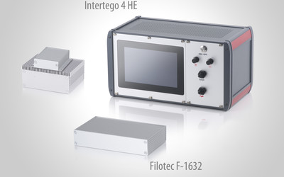 BOPLA Intertego and Filotec aluminium enclosures