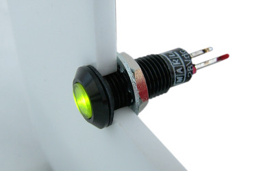 Marl 612 Series Tri-colour panel indicator LED