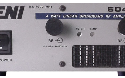ENI 604L 4 W wideband radiofrequency amplifier