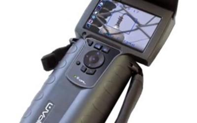 Ofil UVollé-VX handheld, battery-operated corona camera