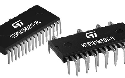 STMicroelectronics SLLIMM-nano series of intelligent power modules (IPMs)