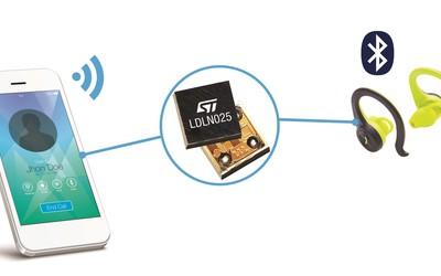 STMicroelectronics LDLN025 low-dropout (LDO) voltage regulators