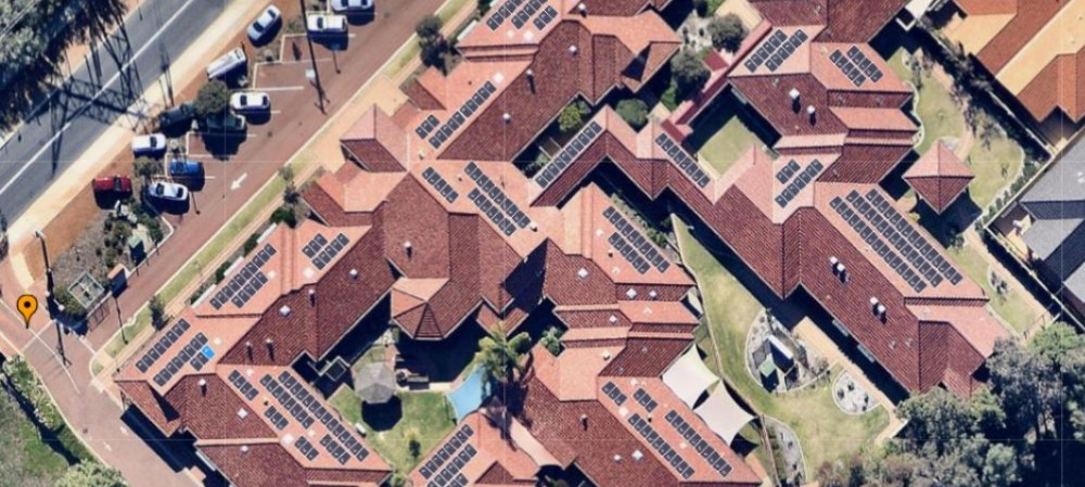 Solar power for the aged-care sector