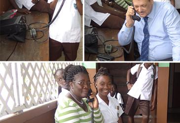 School students embrace Barrett HF radio