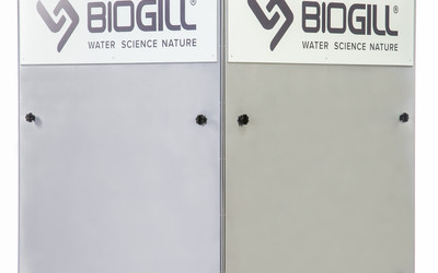 BioGill Tower above-ground bioreactor