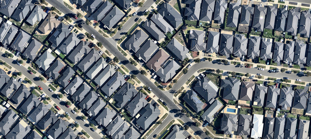 Urban development — the view from above