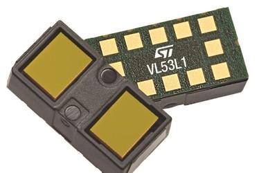 STMicroelectronics VL53L1 time-of-flight ranging sensor