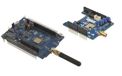 STMicroelectronics B-L072Z-LRWAN1 and I-NUCLEO-LRWAN1 prototype boards