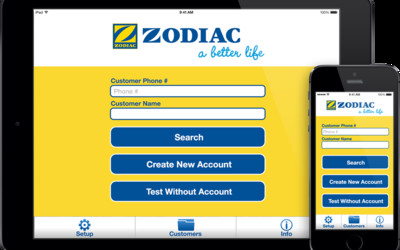 Zodiac Pure Solutions app