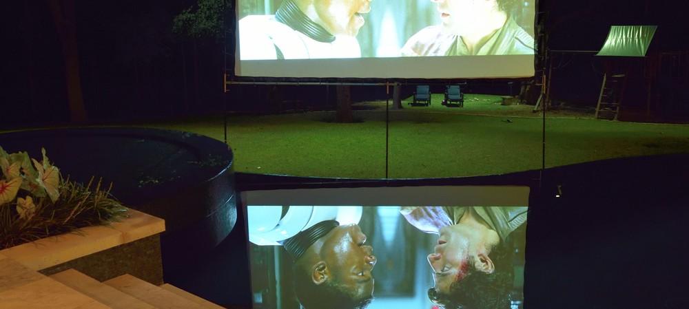 Amplifying the backyard with audiovisual design