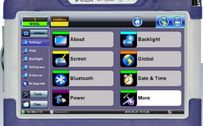 VeEX MTTplus modular test platform