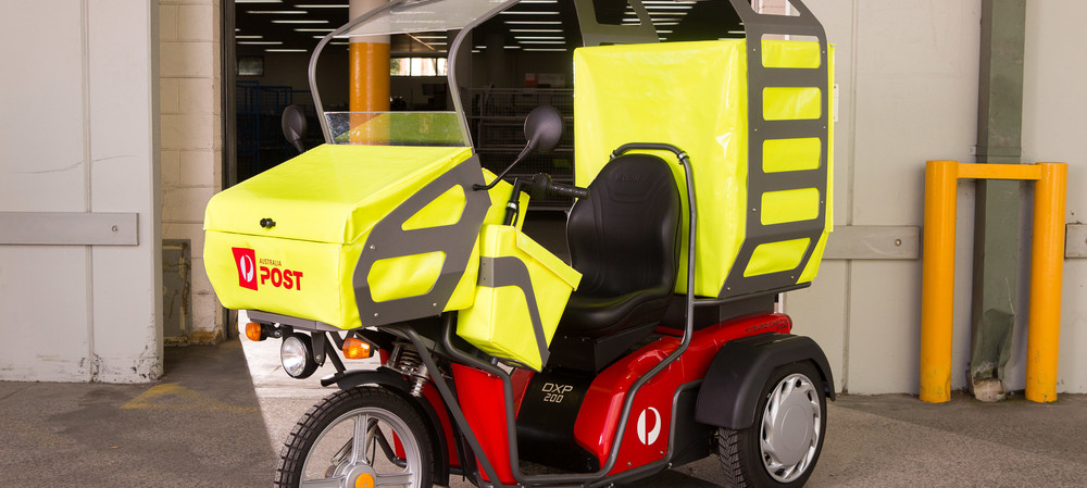 AusPost to trial electric vehicles in Hobart