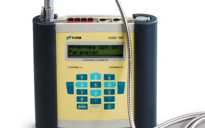 Flexim ultrasonic gas flow meter