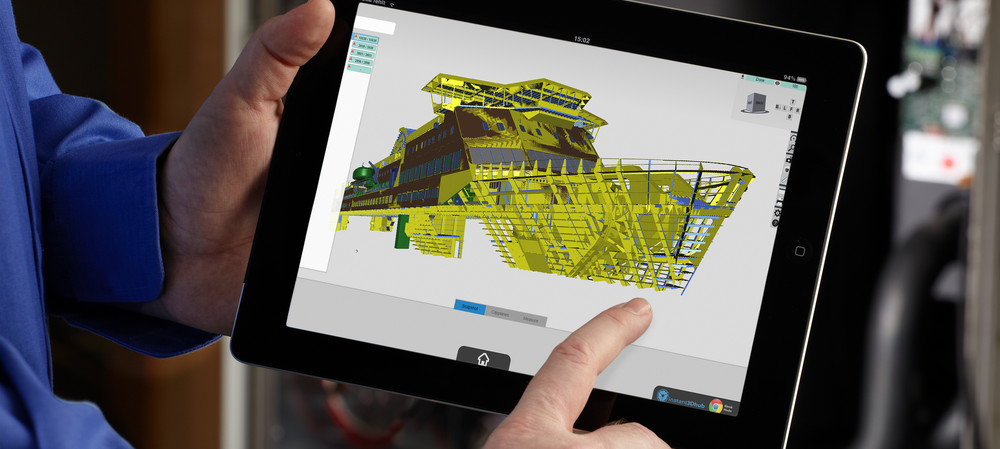 Visualising complex 3D data on any device