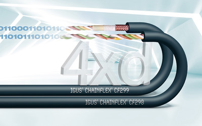 igus chainflex CF298 and CF299 data cables