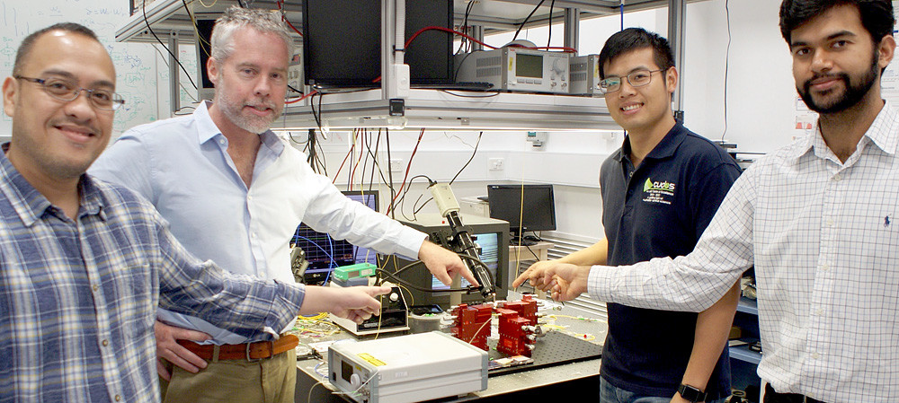 Photonics for fast RF