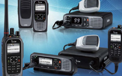 Icom IC-F3400D/IC-F4400D/IC-F5400D/IC-F6400D IDAS series land mobile radios