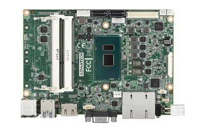 Advantech MIO-5272 fanless SBC
