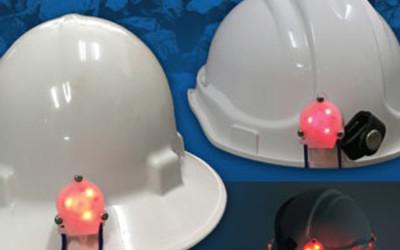 Roobuck Intrinsically Safe LED helmet beacon