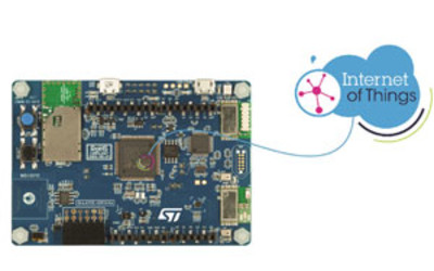 STMicroelectronics STM32 cloud-connectable IoT discovery kit