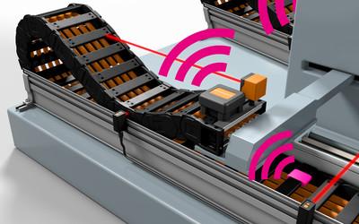 igus isense e-chain monitoring range
