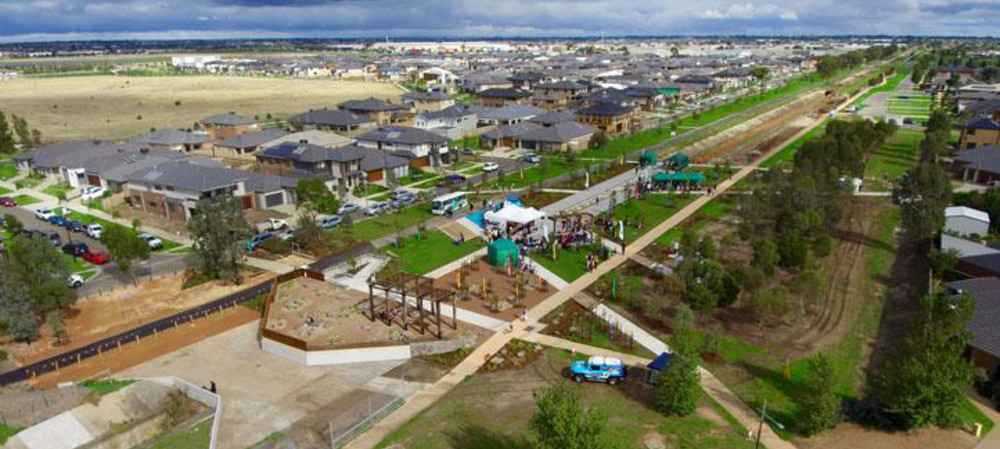 New parkland opens in Melbourne