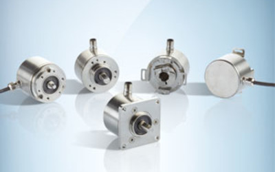 SICK encoders and inclination sensors