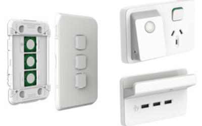 Clipsal Iconic BLE and ControlLink electrical accessories