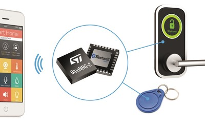 STMicroelectronics BlueNRG-2 Bluetooth Low Energy (BLE) system-on-chip