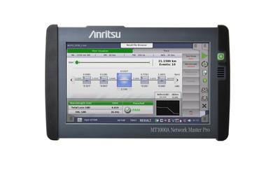 Anritsu MT1000A tri-wavelength OTDR