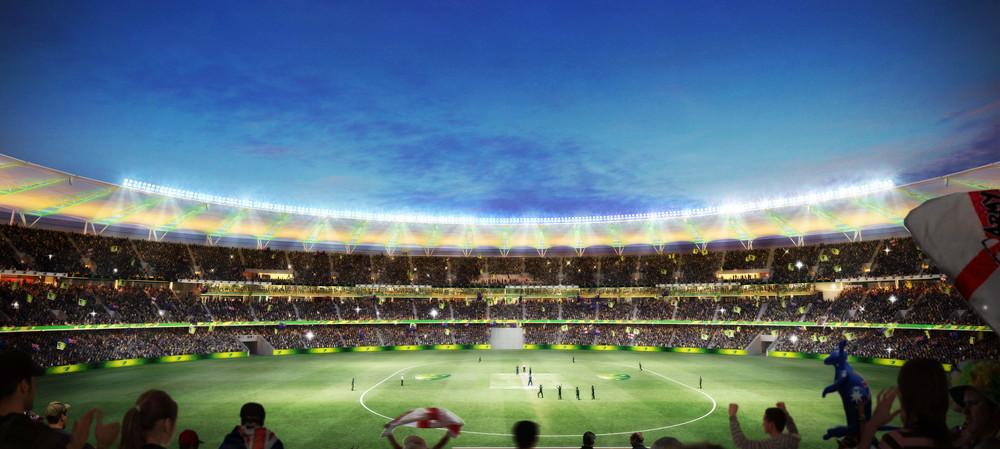 Lighting up a multipurpose stadium