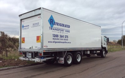 Refrigerated vehicles for hire